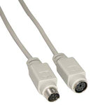 25Ft PS/2 M/F Extension Cable