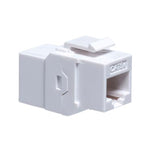 Cat.5E Inline Coupler w/Keystone Latch White