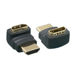HDMI Adapter 270 Degree Male to Female Port Saver Adapter