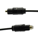 3Ft Toslink/Toslink 2.2mm Digital Audio Cable