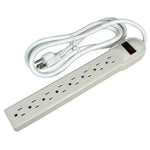 6Ft 8-Outlet Surge Protector 15A, 90J