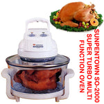 Sunpentown SO-2000 Super Turbo Multi-Function Round-Shaped 12-Liter Convection Oven - EWAAY.COM