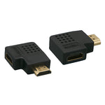 HDMI Adapter 90° Vertical Flat Male to Female Port Saver