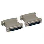 DB25 M/M Null Modem Adapter