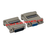 DB15M / HDD15F 10 Dip Switch - EWAAY.COM