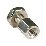 D-Sub Hex Head Screw with Nut 4-40UNC, 100pcs/Bag - EWAAY.COM