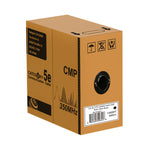 1000Ft Cat5e UTP Bulk Cable 24AWG Solid CMP, REELEX - EAGLEG.COM