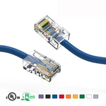 1Ft Cat5e Unshielded Ethernet Network Cable Non Booted - EAGLEG.COM
