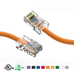3Ft Cat5e Unshielded Ethernet Network Cable Non Booted - EAGLEG.COM