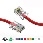 5Ft Cat5e Unshielded Ethernet Network Cable Non Booted - EWAAY.COM