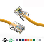 7Ft Cat5e Unshielded Ethernet Network Cable Non Booted - EAGLEG.COM