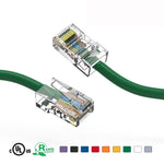 2Ft Cat5e Unshielded Ethernet Network Cable Non Booted - EWAAY.COM