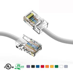 6Ft Cat5e Unshielded Ethernet Network Cable Non Booted - EWAAY.COM