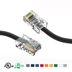 0.5Ft Cat5e Unshielded Ethernet Network Cable Non Booted - EWAAY.COM