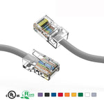 1.5Ft Cat5e Unshielded Ethernet Network Cable Non Booted - EWAAY.COM