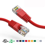 4Ft Cat5e Unshielded Ethernet Network Patch Cable Booted - EAGLEG.COM