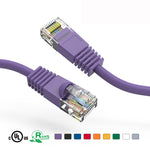 3Ft Cat5e Unshielded Ethernet Network Patch Cable Booted - EAGLEG.COM