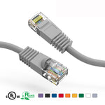 5Ft Cat5e Unshielded Ethernet Network Patch Cable Booted - EAGLEG.COM