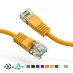 6Ft Cat5e Unshielded Ethernet Network Patch Cable Booted - EAGLEG.COM