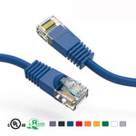 0.5Ft Cat5e Unshielded Ethernet Network Patch Cable Booted - EAGLEG.COM