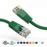 1.5Ft Cat5e Unshielded Ethernet Network Patch Cable Booted - EAGLEG.COM