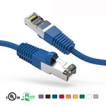 4Ft Cat5e Cable Shielded (FTP) Ethernet Network Cable Booted - EAGLEG.COM
