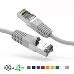 2Ft Cat5e Cable Shielded (FTP) Ethernet Network Cable Booted - EAGLEG.COM