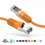 3Ft Cat5e Cable Shielded (FTP) Ethernet Network Cable Booted - EAGLEG.COM