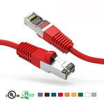 5Ft Cat5e Cable Shielded (FTP) Ethernet Network Cable Booted - EAGLEG.COM