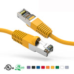 7Ft Cat5e Cable Shielded (FTP) Ethernet Network Cable Booted - EAGLEG.COM