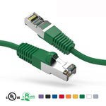 0.5Ft Cat5e Cable Shielded (FTP) Ethernet Network Cable Booted - EAGLEG.COM
