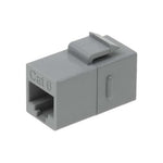 Cat6 Inline Coupler w/Keystone Latch - EWAAY.COM