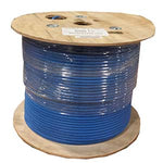 1000Ft Cat 6A 10G UTP Solid Wire Plenum CMP - EWAAY.COM