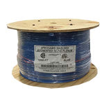 1000Ft Cat.6 A Shielded Cable Plenum Blue - EWAAY.COM