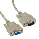 DB9 Male to Female Null Modem Cable - EWAAY.COM