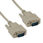 RS-232 DB9 Serial Cable Male to Male - EWAAY.COM