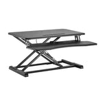 Adjustable Desktop Sit-Stand Workstation DWS28-01N - EWAAY.COM