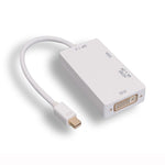 Multifunction Mini DisplayPort To HDMI / DVI / VGA Adapter
