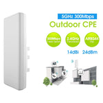 300MBPS 5G High Power Outdoor Router Repeater AP EP-CPE2617 - EAGLEG.COM