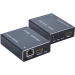 60 Meter (197Ft) HDMI Extender Over Single CAT5E/6 w/IR 1080p