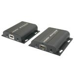 HDMI Extender Over Ethernet with IR (Up to 394ft 1080p, Split to More Monitors, Daisy Chain for Longer Distances) - EWAAY.COM