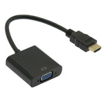 HDMI to VGA Female Adapter with Audio - EAGLEG.COM