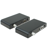HDMI Extender Over Coaxial Cable (Up to 2297ft One-to-One at 1080p, Split to More Monitors)