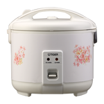 Tiger Rice Cooker and Warmer 3 Cups, 5.5 Cup, 8 Cup, 10 Cup Lovely Flower