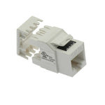 Cat5E RJ45 110 Type 180° Keystone Jack - EAGLEG.COM