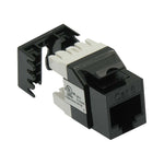 Cat6 RJ45 110 Type 180° Keystone Jack - EAGLEG.COM