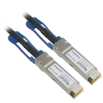 1M QSFP28+ 100G Passive Direct Attach Copper Twinax Cable, 30AWG - EAGLEG.COM