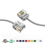 CAT6A UTP Super-Slim Ethernet Network Cable 32AWG (1Ft - 10Ft) - EWAAY.COM