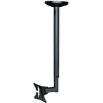 "Flat TV Ceiling Mount 13~27"" Tilt/Swivel, LCD-504 Black"
