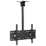 "Flat TV Ceiling Mount Adjustable Pole Angle 32""~55"" Tilt, BCEM101M"